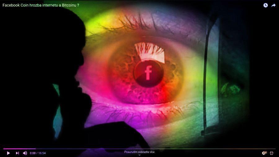 facebook, oko, muž, šmírování, sleduje, obrazovka, soukromí