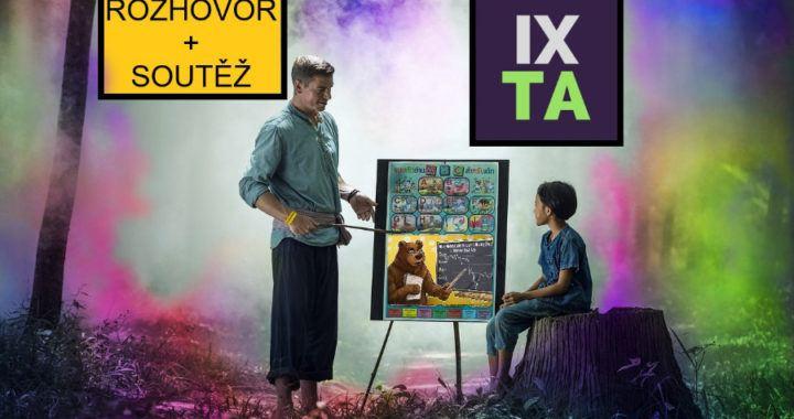 učitel, analýza, technická analýza, IX.., IXOYE, trading, soutěž, rozhovor, tabule