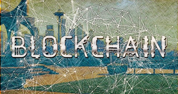 blockchain, gigant, síť, město, city, ledger