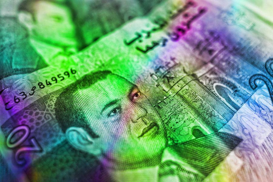 banka, bankovka, peníze, kryptoměny, zničit, papír, bitcoin