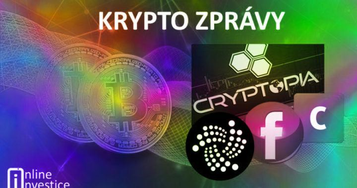 zprávy, novinky, aktualita, krypto, hodler, cryptopia, iota, fb, coinbase