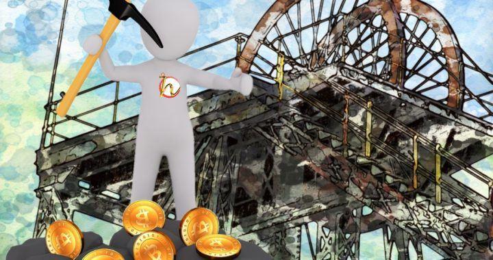 CESKY, HODLER, těžba, těžař, kryptoměny, bitcoin, těžba kryptoměn, proof of work, důl, bitcoiny