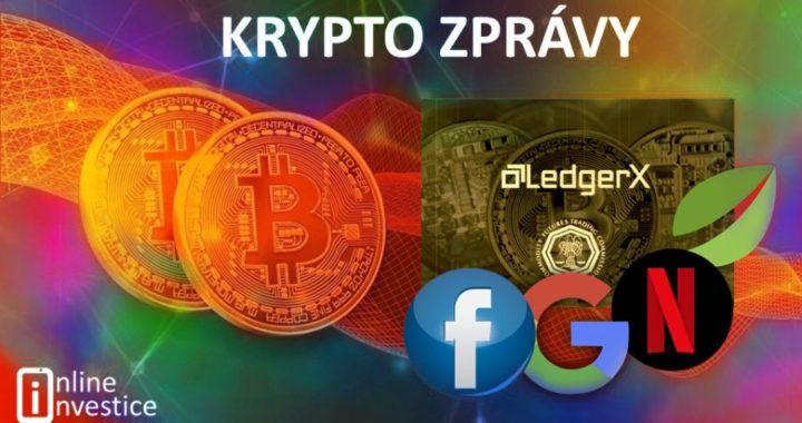 zprávy, novinky, krypto, kryptoměny, bitcoin, co nového, jak to vypadá, aktuálně