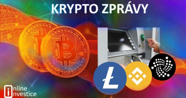 zprávy, krypto, kryptozprávy, novinky, akceptace, bankomaty