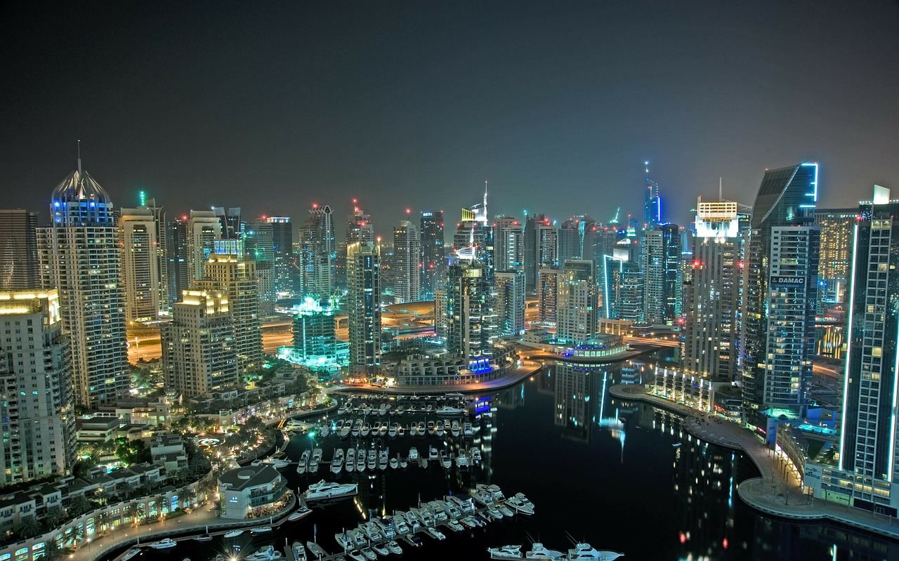 Dubai, smart city, blockchain