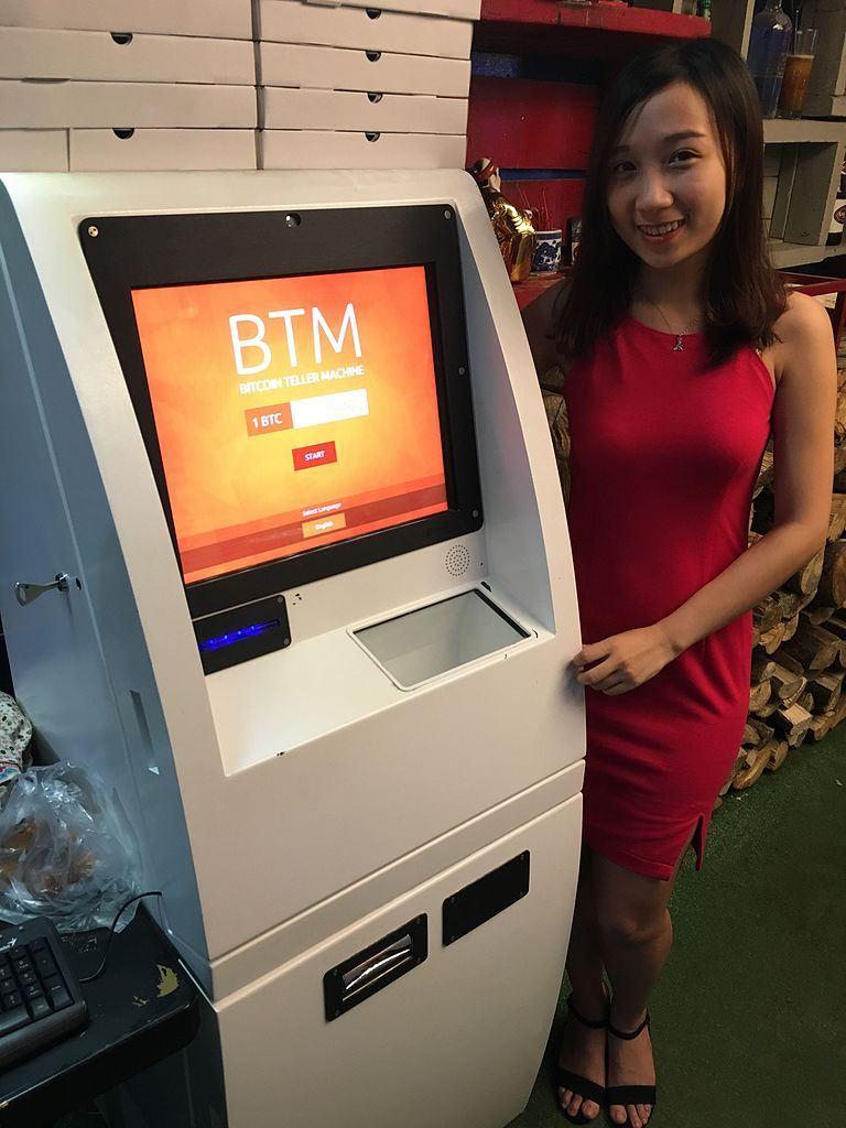 bitcoin, bankomat