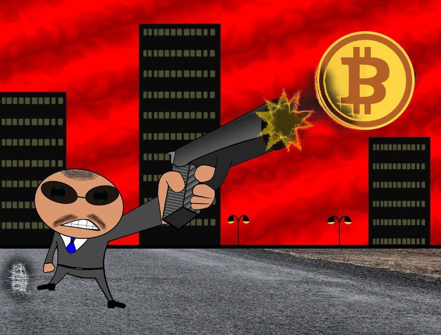 Dominance, Bitcoin, střela, maximum, gangster, news, letí