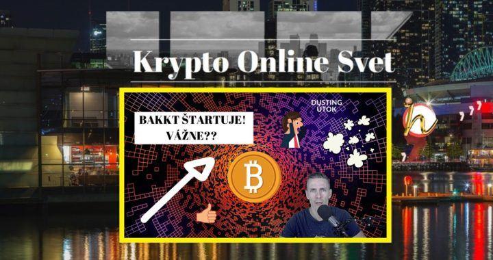 Krypto-Online-Svet, Bakkt, dusting, Bitcoin