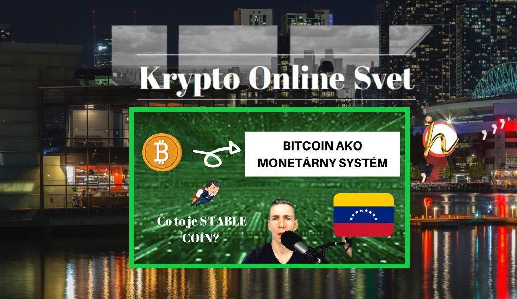 bitcoin, krypto, dolar, měny, fiat, monetární systém, video,