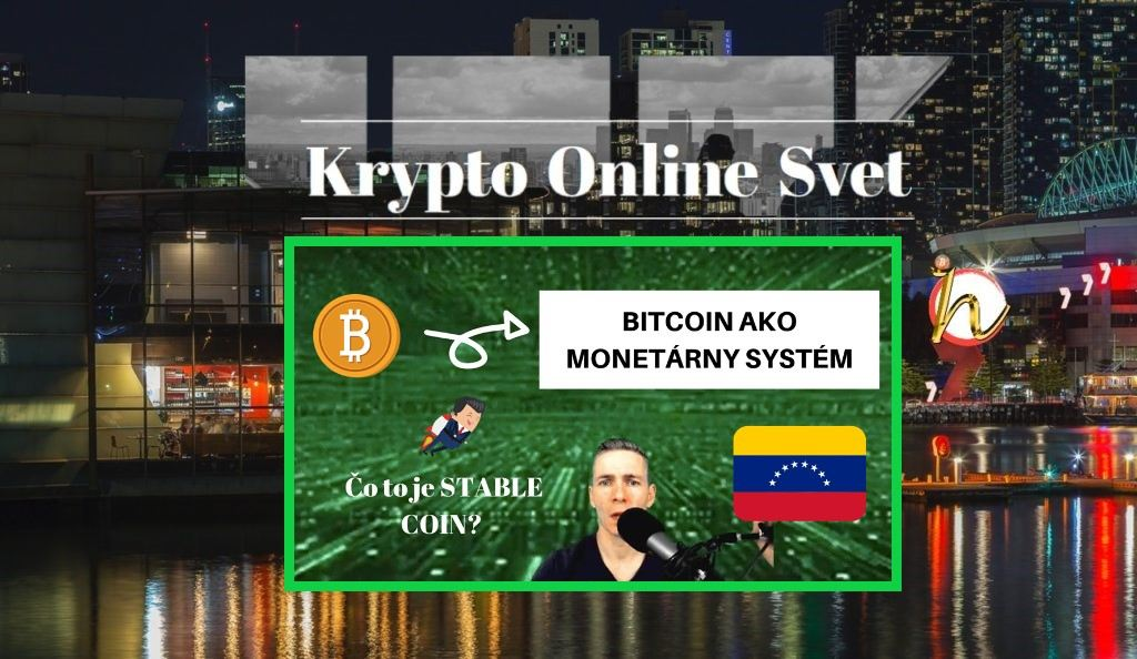 bitcoin, krypto, dolar, měny, fiat, monetární systém, video,