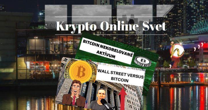 Wall Street, bitcoin, papír, krypto, svet, online, novinky, kryptoměny
