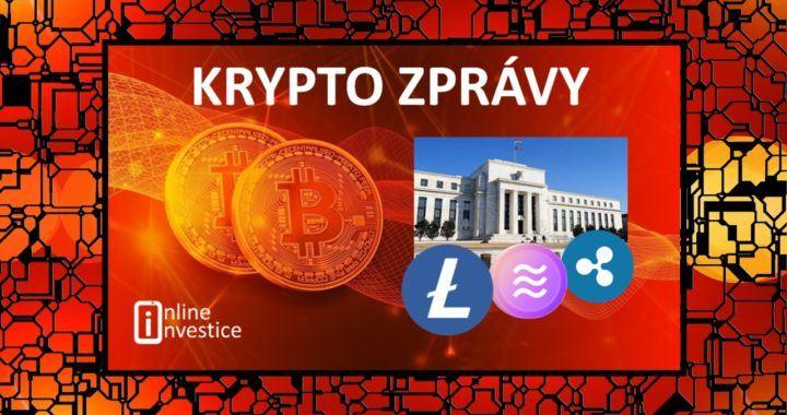 kryptozprávy, bitcoin, litecoin, centrální, banky, růst,
