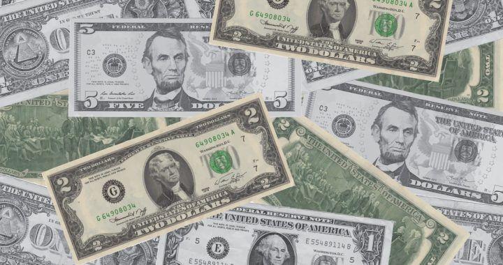 peníze, život, dolar, druhé místo, bohatství