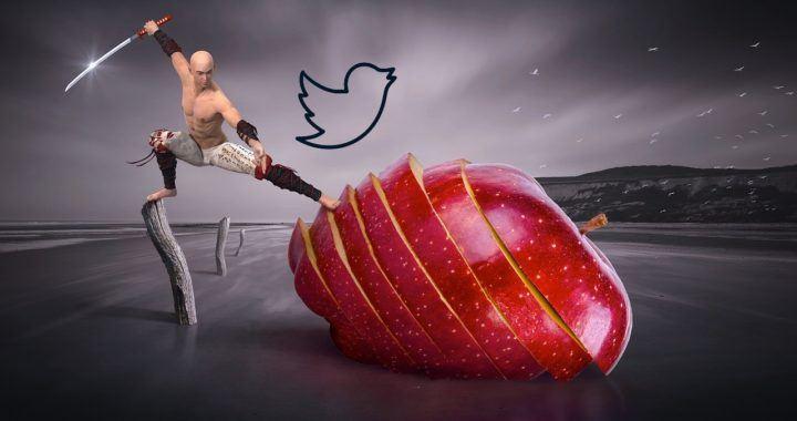 Twitter, hack, binance, news, burzy, sociální, tweet, samuraj