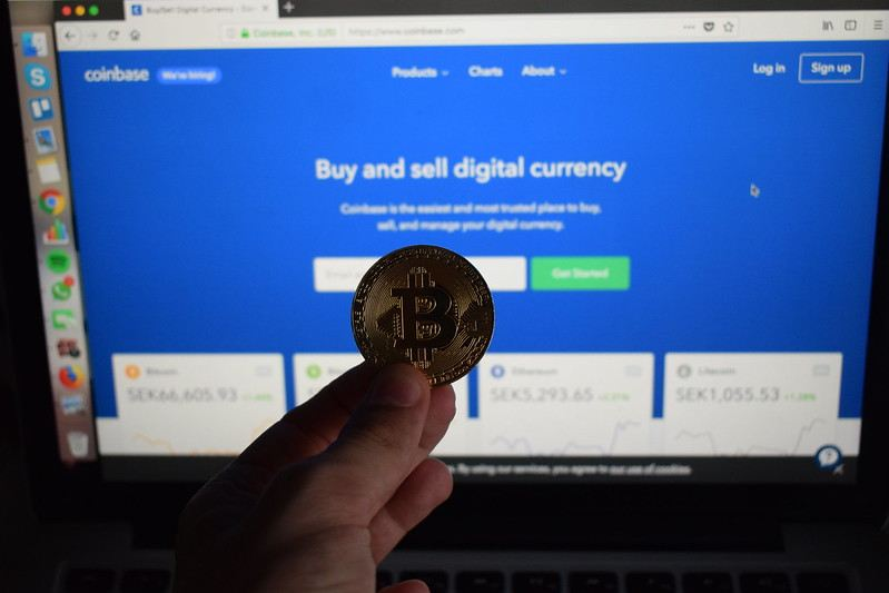 coinbase, bitcoin, nákup, burza