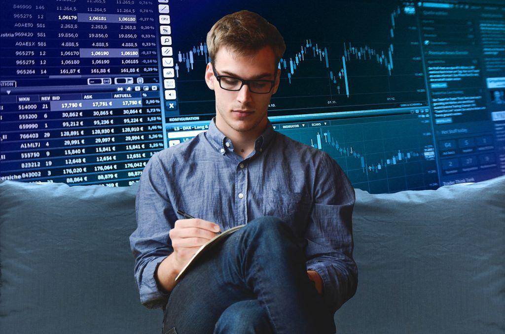 burza cenných papírů, blockchain, news, grafy,