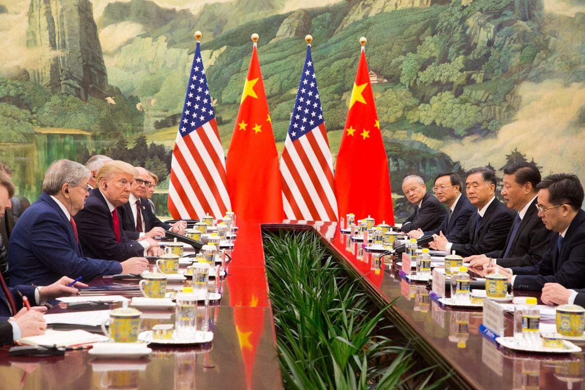 obchodní válka, USA, Čína, kryptosvět, digitální měny, krypto,