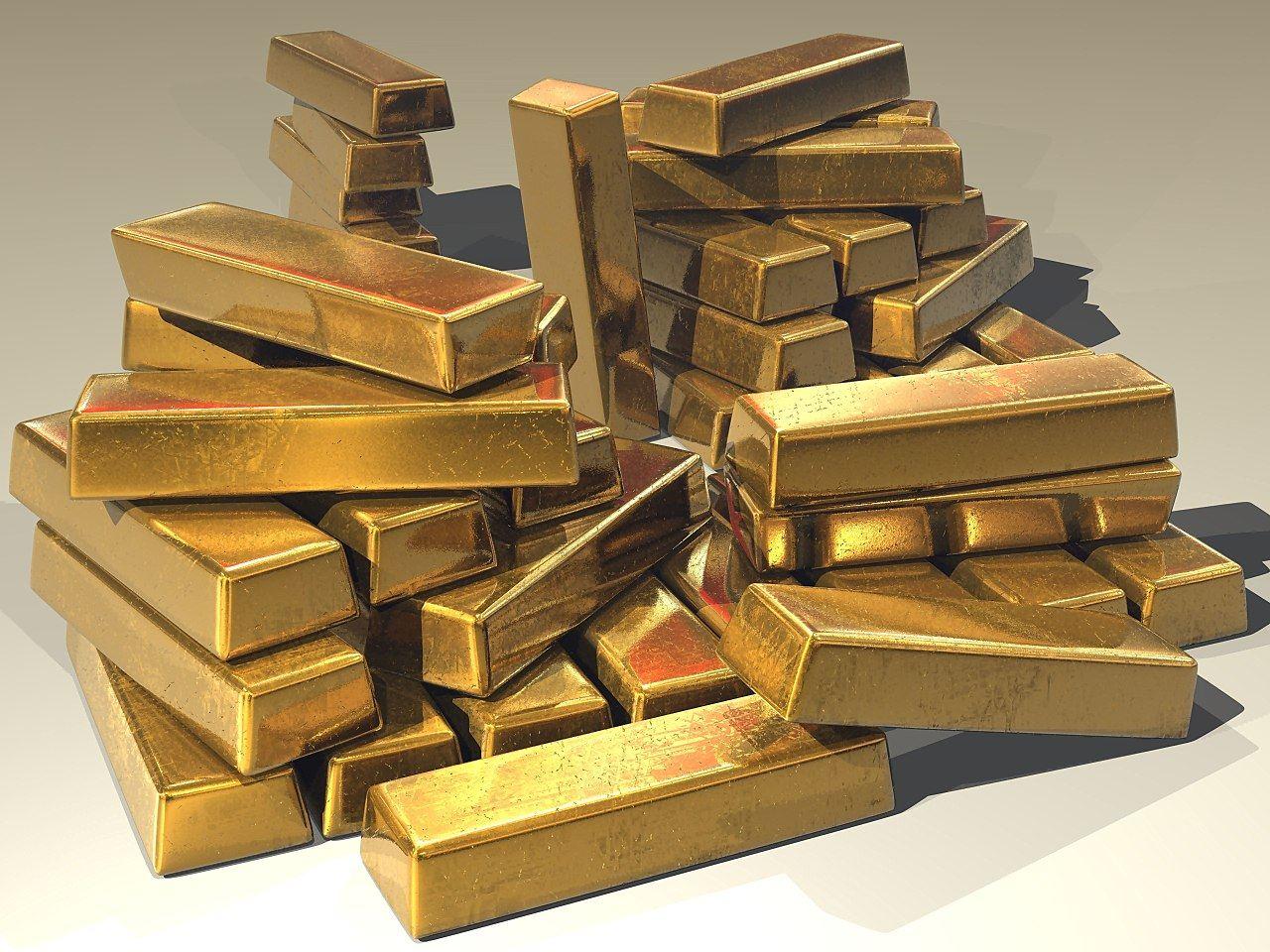 zlato, kolaps, systém, zhroutí, začátek, restart