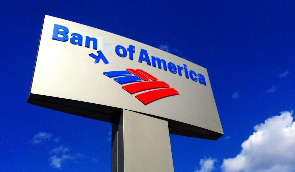 účet, banka, bank of america, bitcoin, zrušila