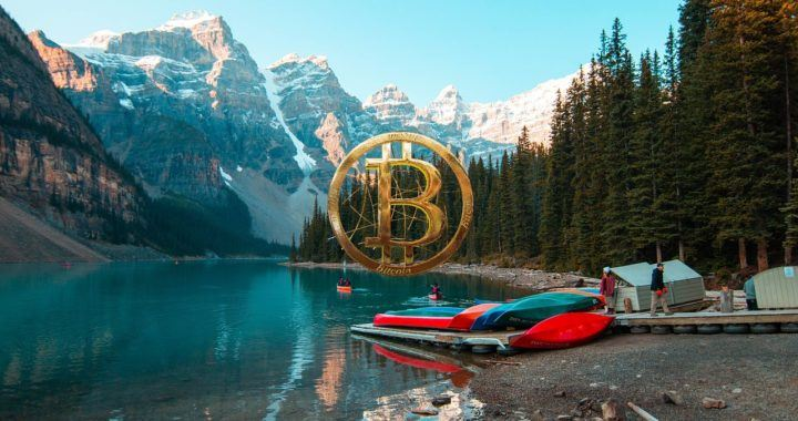 bitcoin, směnárna, kanadská, banka, ban, kanada, jezero