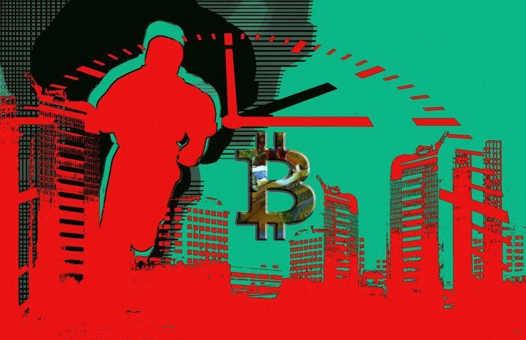 virální, cestovatel, časem, bitcoin