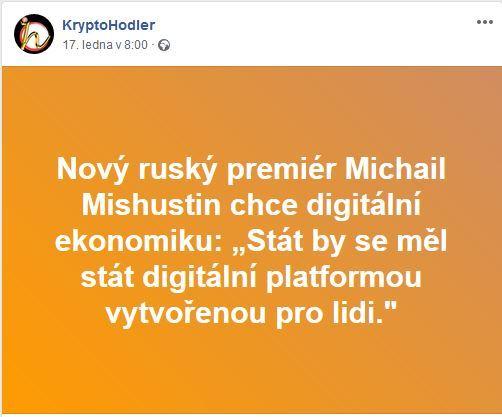 premiér, Rusko, Mishustin, digitální, platformu