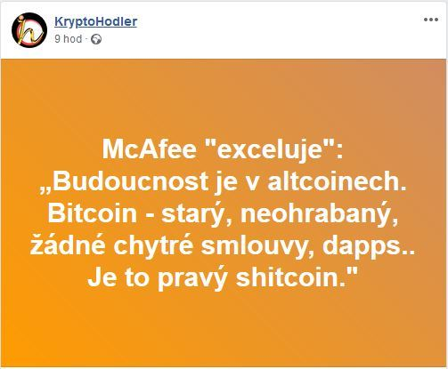 McAfee, shitcoin