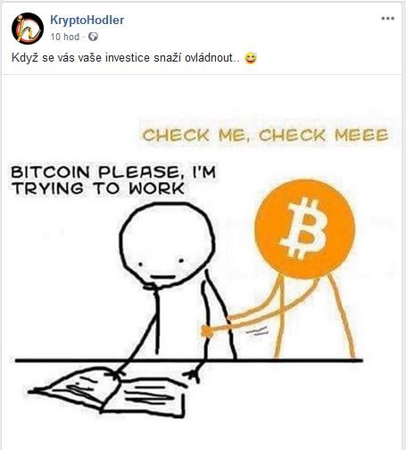 cena, nutkání, bitcoinu