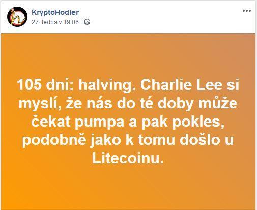halving, Charlie Lee, BTC