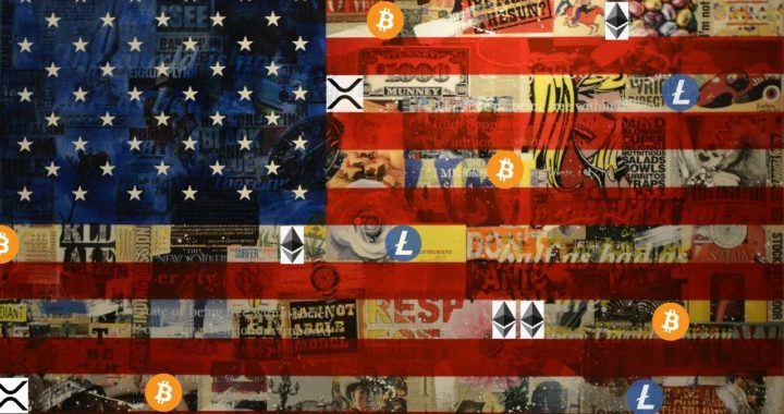 Vlajka, USA, kandidát, regulace, krypto
