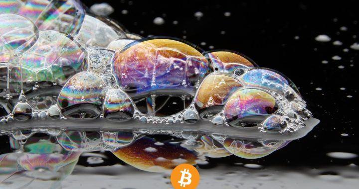 Bitcoin, bublina