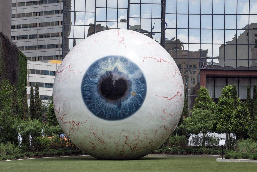 sledování, Brave, osobní údaje, soukromí, oko