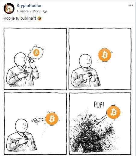 bublina, btc,