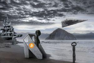 budoucnost, dolar, btc, 2140, peníze, hodnota, mince, future