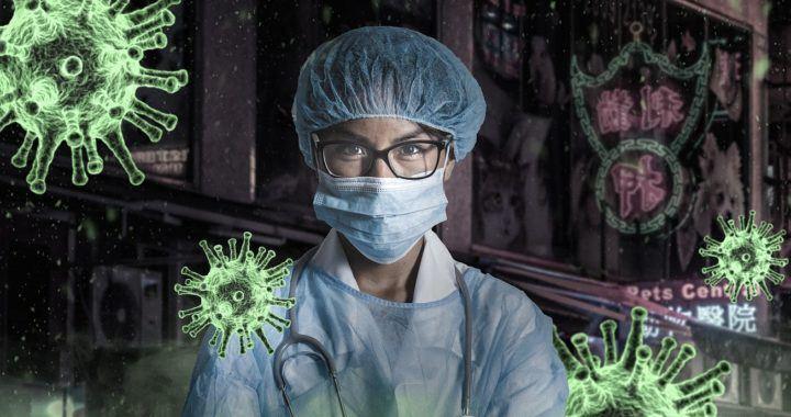 koronavirus, charitativní, binance, lékař, bacily