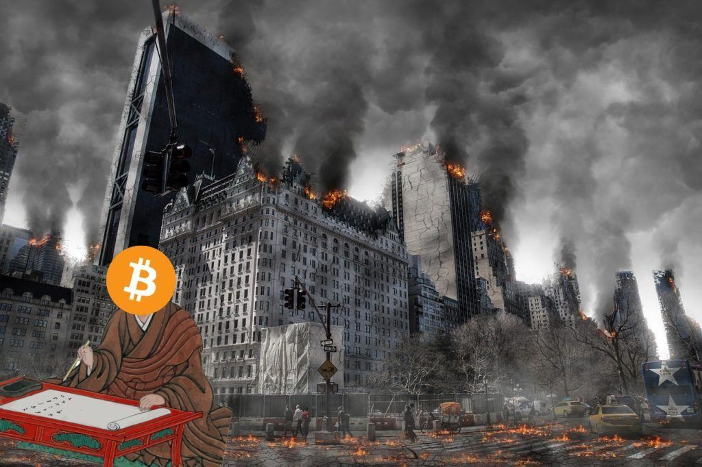 btc, bitcoin, koronavirus, krize, apokalypsa, postapokalyptické, co a jak