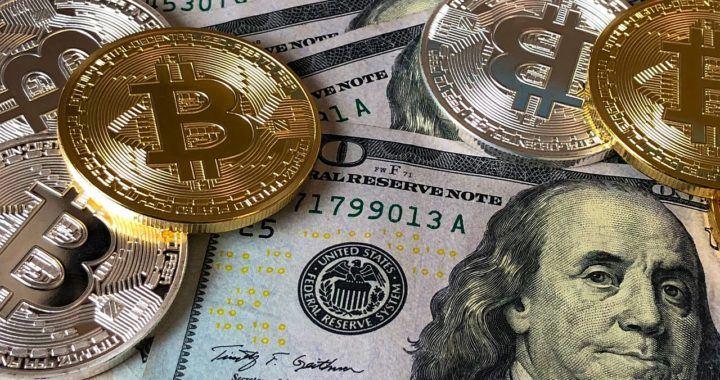 Bitcoin, BTC, zajištění, fiat, USD, dolar, kurz, kryptomarket