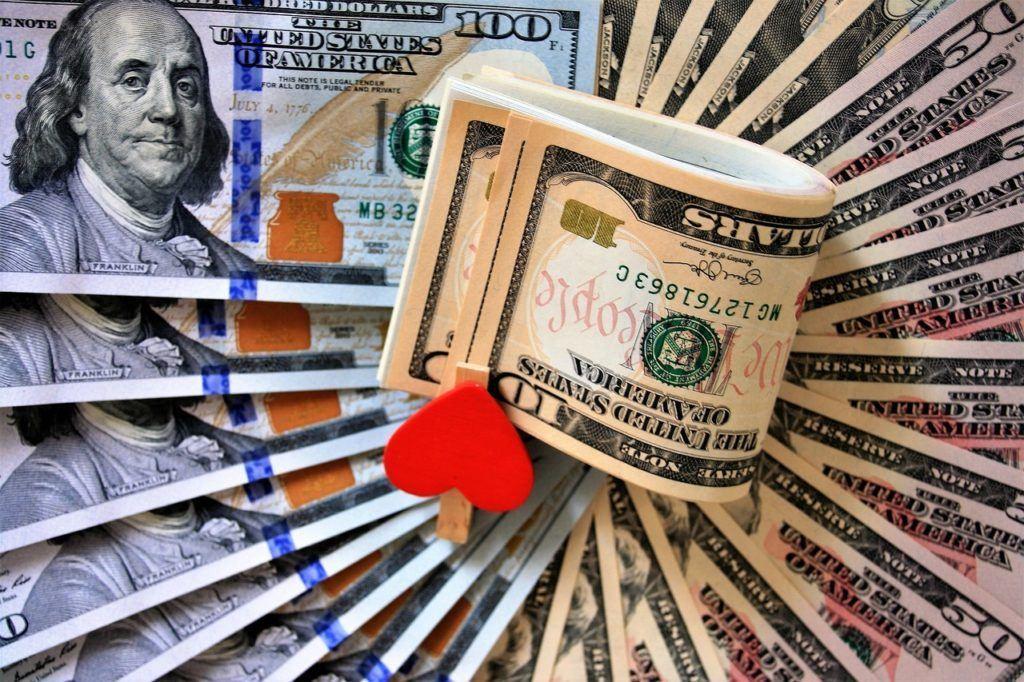peníze, usd, dolar, money, dolary, bankovky, hotovost