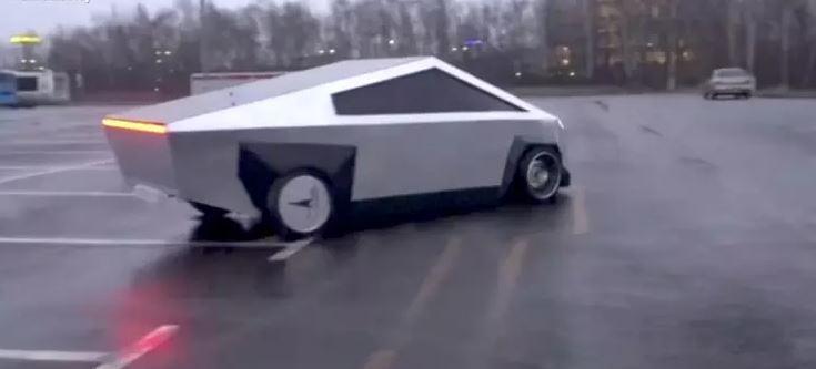 tesla, jezdit, ruská