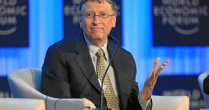 Bill Gates, miliardář, microsoft, očkování