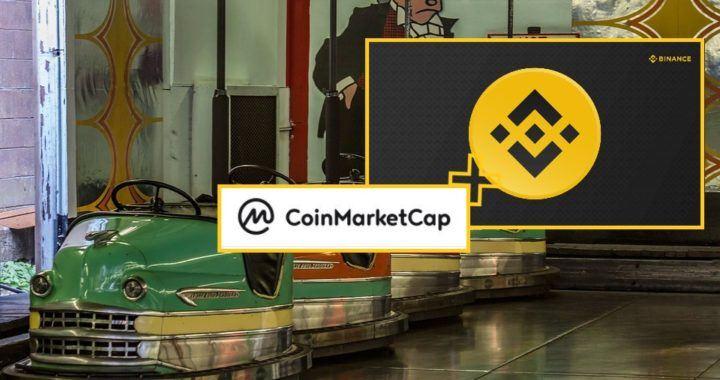CMC, CoinMarketCap, Binance, kryptoměny, ktypto, ceny, akvizice