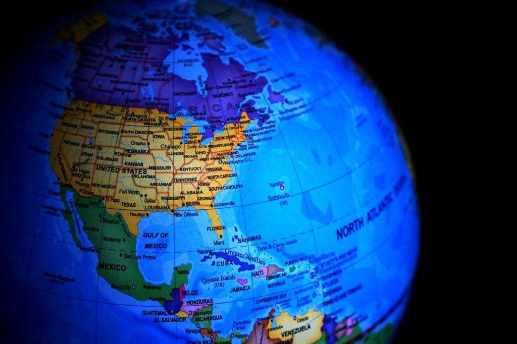 změny regulací, svět, Země, globus, planeta, kontinenty, amerika, asie, evropa