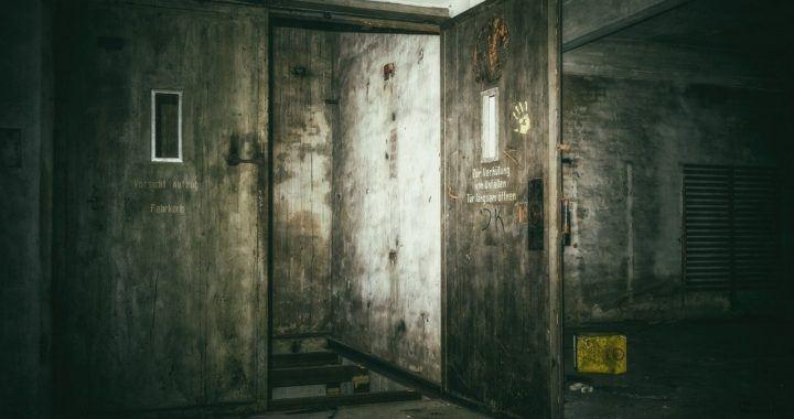 dveře, vrata, ztratil bitcoin, ztracené, místo, backdoor, šedá,