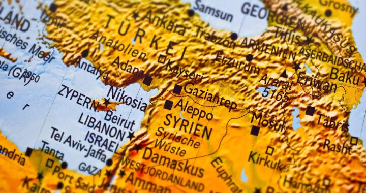 Libanon, Turecko, Sýrie, Irák, Izrael, Libanonu