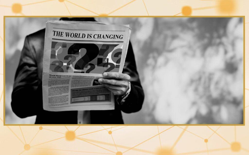 zprávy, kryptozprávy, svět, změna, Shelley