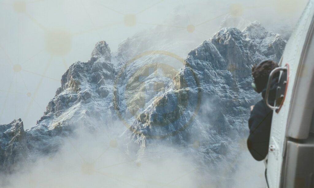 volatilita, volatility, btc, let, pohoří, vrchol