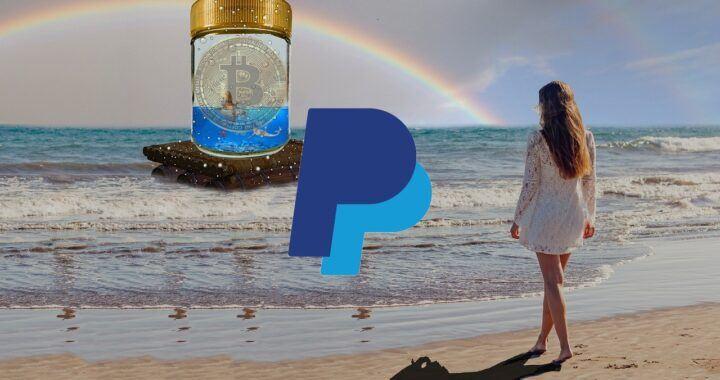 PayPal, krypto, cesta, kryptoplatby, kryptoměny, platební