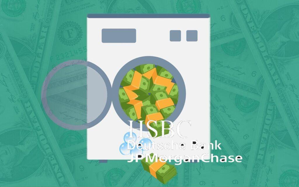 Skandál, praní, peněz, banky, pračka