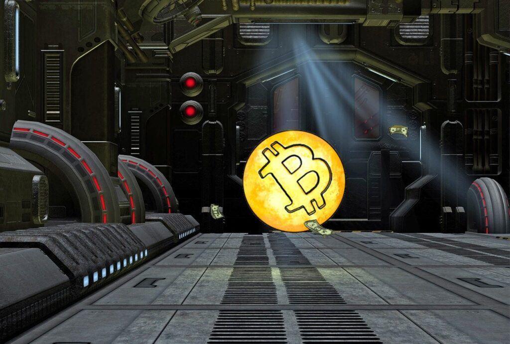 maxima, cena, btc, bitcoin, sci-fi, dveře, anime