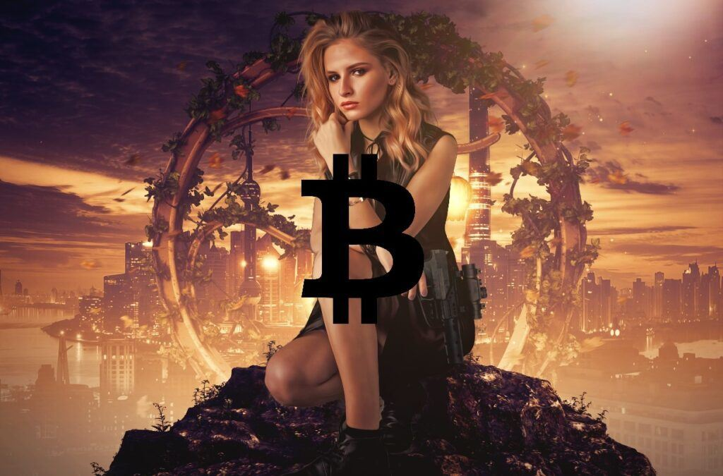 btc, šmigrust, bitcoin, sci-fi, high, maximum,